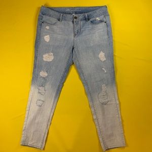 Dip Bleached Jeans by NY & Co.